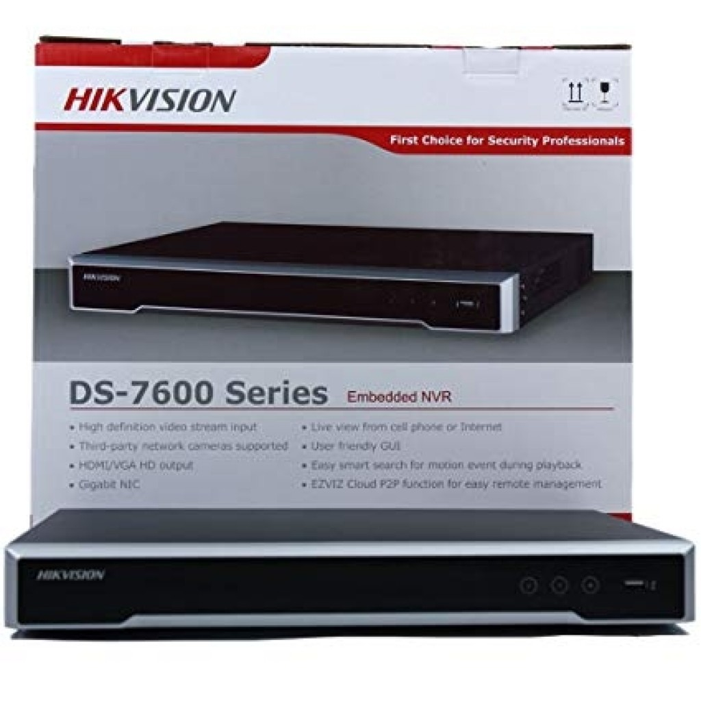 Hikvision DS-7616NI-Q2/16P 16-Channel Embedded Plug & Play NVR