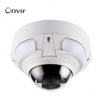 GV-VD2540-E GeoVision 2MP 3x zoom Super Low Lux Outdoor Motorized WDR IR Arctic IP Dome Camera