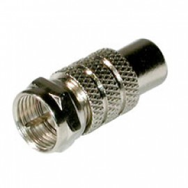 JEC-25 F Jack Male to RCA Female Connector