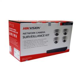 I7604N1TA - Hikvision 4-Channel 2MP IP Kit (NVR-1TB + 4 Cameras)