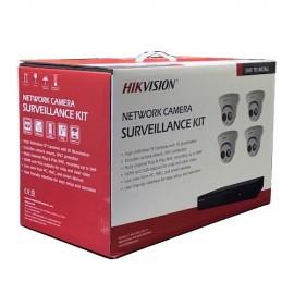 I7604N1TP Hikvision 4-Channel 4MP IP Kit (NVR-1TB + 4 Cameras)
