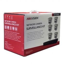 I7608N2TP Hikvision 8-Channel 4MP IP Kit (NVR-2TB + 6 Cameras)