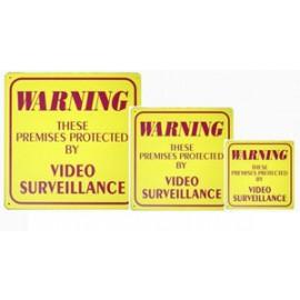 Yellow Warning Signs