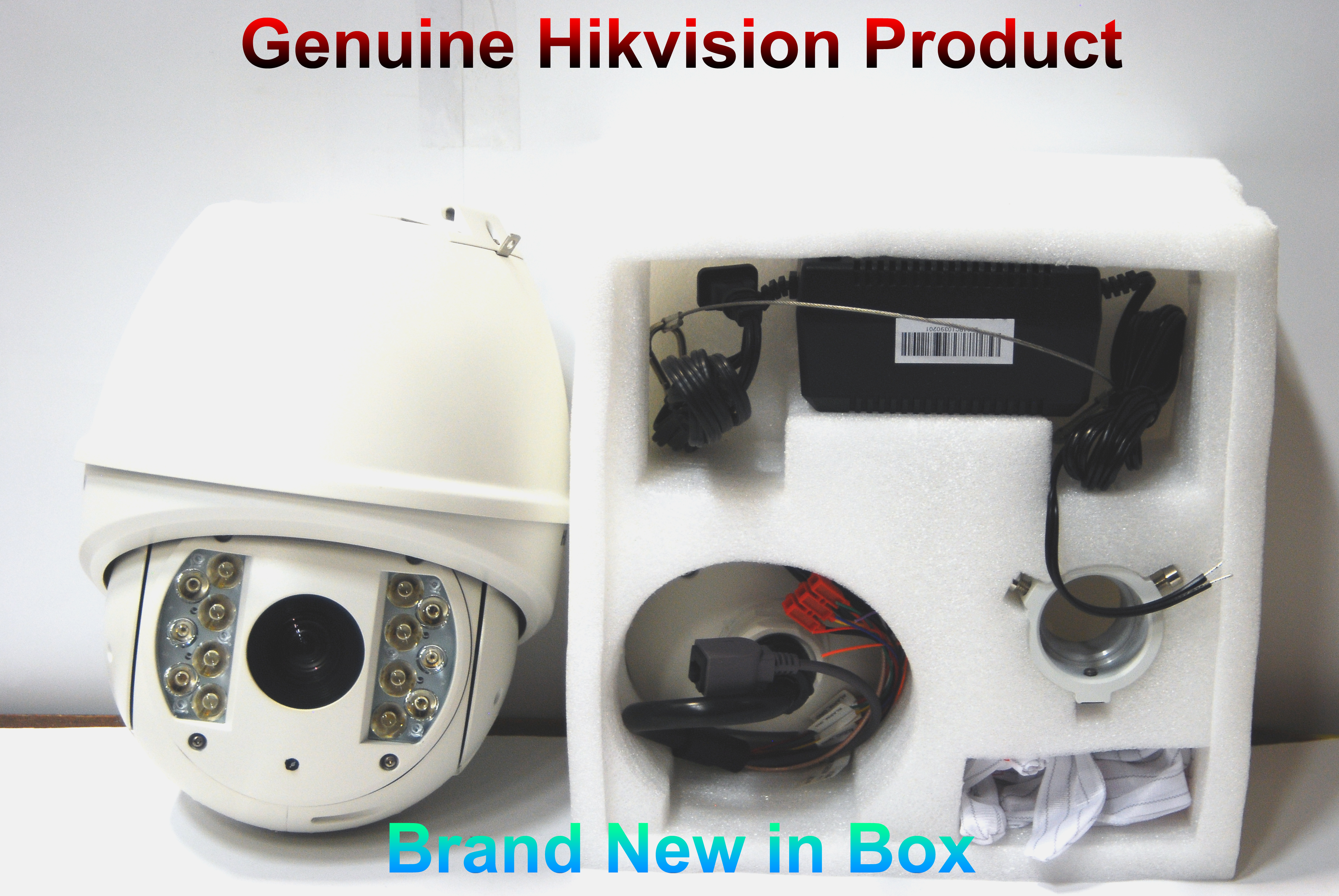 Brand New HIKVISION 23X Outdoor IR Night Vision PTZ Speed Dome//Analog BNC Output