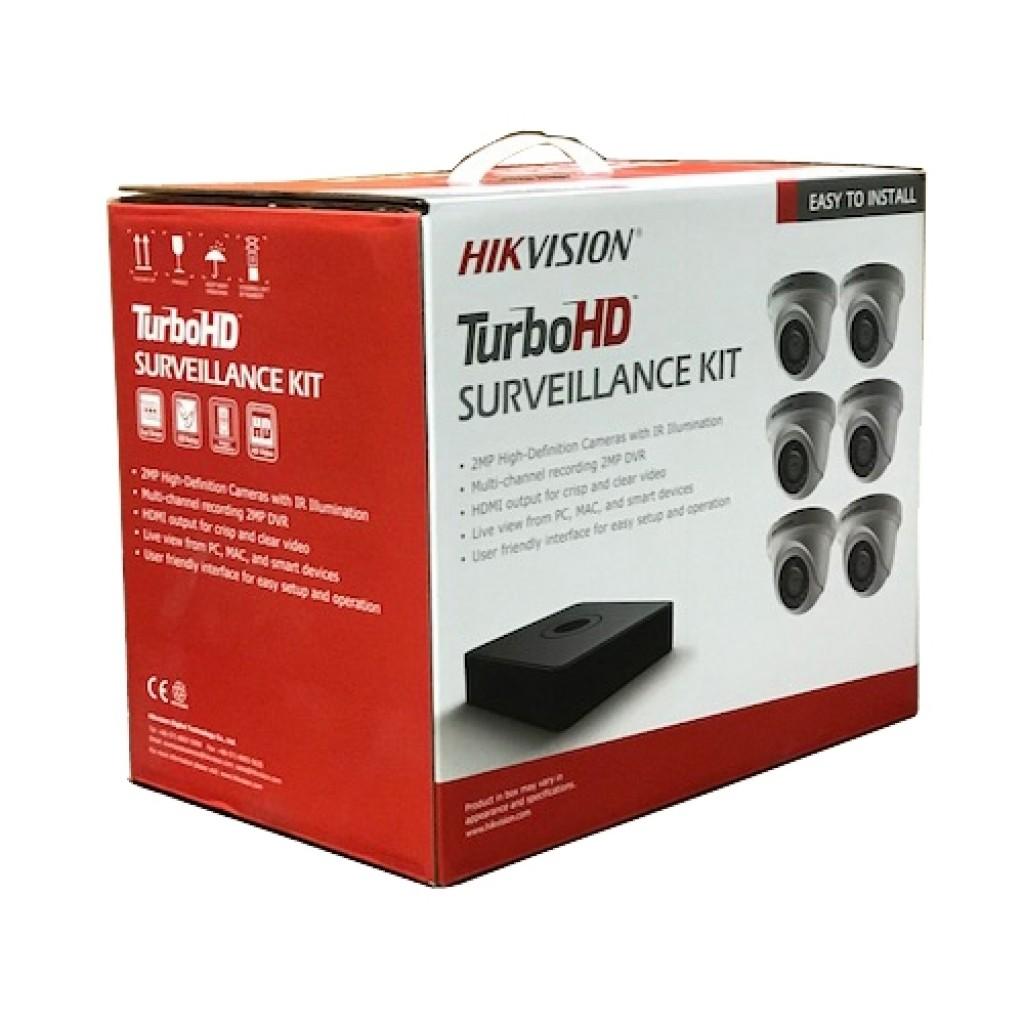 T7108Q2TA - Hikvision - HD-TVI Kits | Jetview
