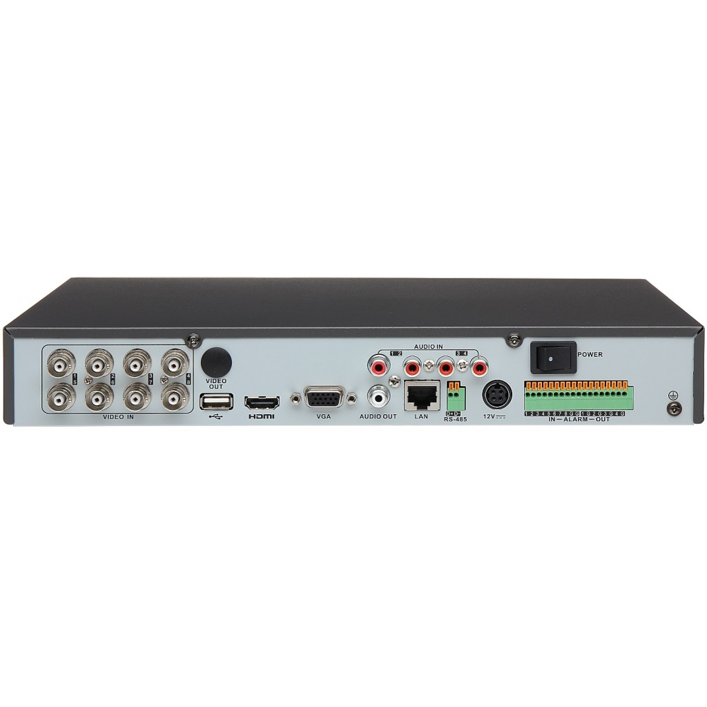 Hikvision DS-7204HUI-K1 4 Channel 5MP TurboHD TVI DVR - NVRs