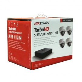 T7104Q1TB Hikvision 4-Channel 1080p HD-TVI Kit (DVR-1TB + 4 Cameras)